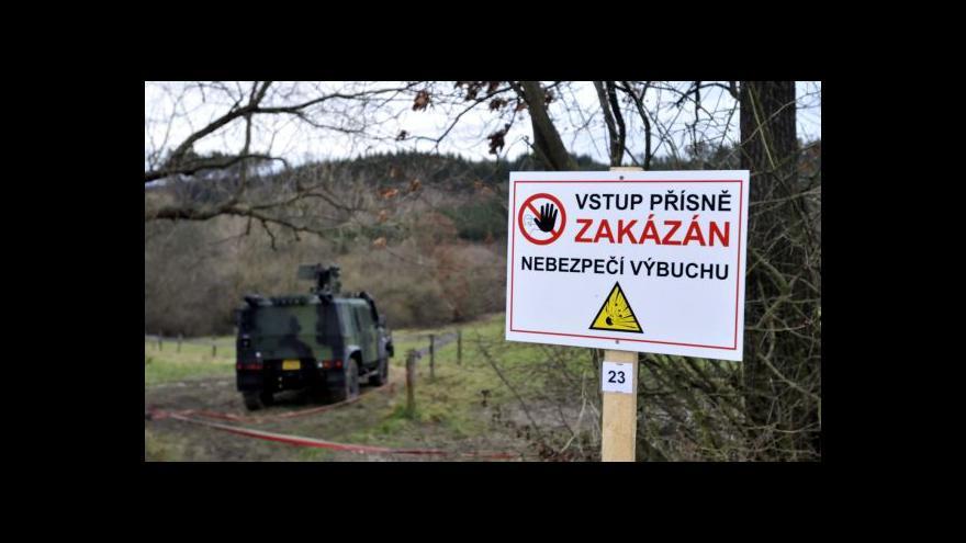 Video Policejní mluvčí Petr Jaroš o situaci ve Vrběticích