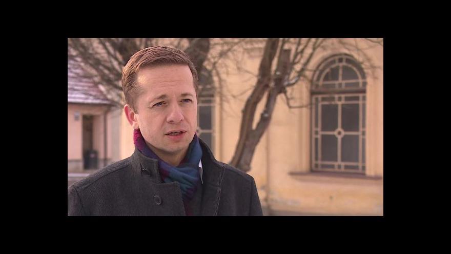 Video Hovoří bývalý náměstek primátora Robert Kotzian (ODS)