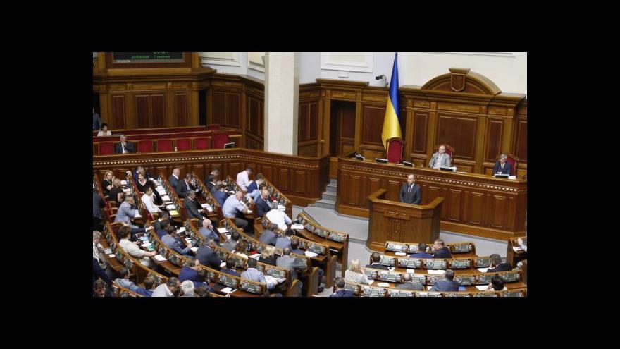 Video Ukrajina schválila rozpočet