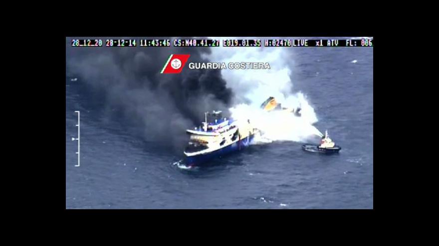 Video Jindřich Vodička k havárii trajektu Norman Atlantic