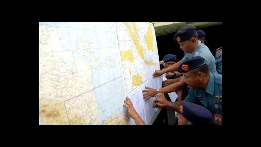 Video Ztracený letoun AirAsia je zřejmě na dně moře