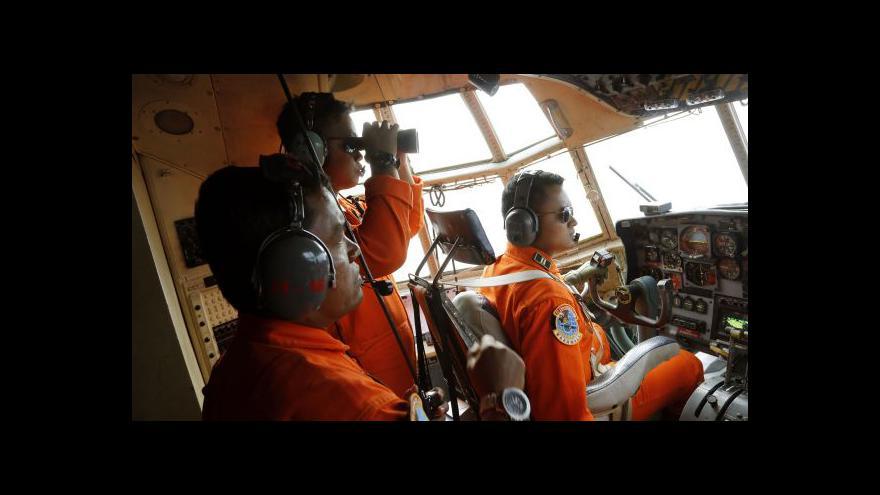 Video U ostrova Nangka se možná našly trosky