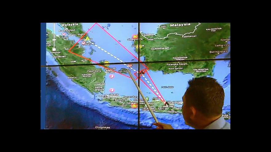 Video Po letu QZ8501 se stále pátrá