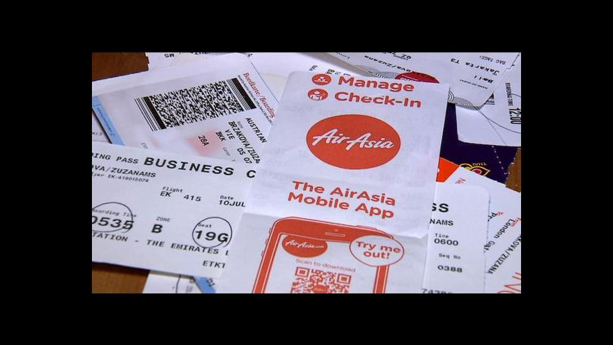 Video Česká turistka: AirAsia jsou doporučované kvůli bezpečnosti