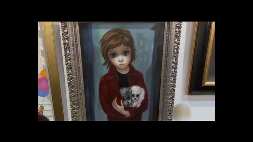 Video Dětské obličeje s velkýma očima Margaret proslavily