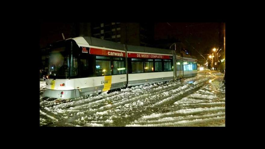 Video Sníh trápí řadu zemí Evropy