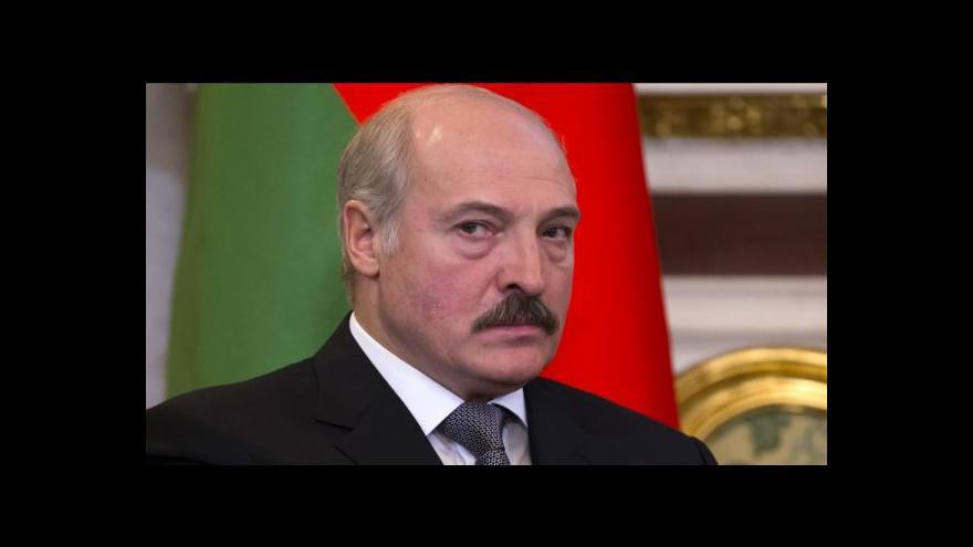 Video Šustrová: Lukašenko chce zlepšit kontakty s Ruskem