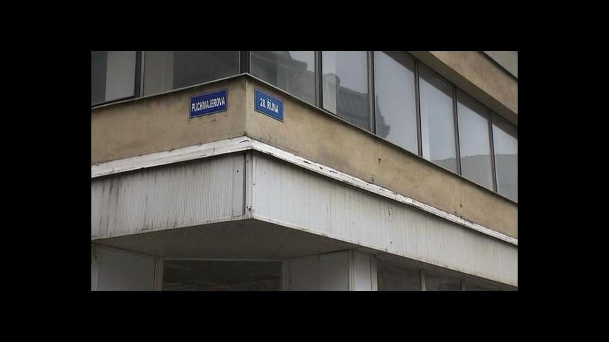 Video Ostravské centrum anebo město duchů