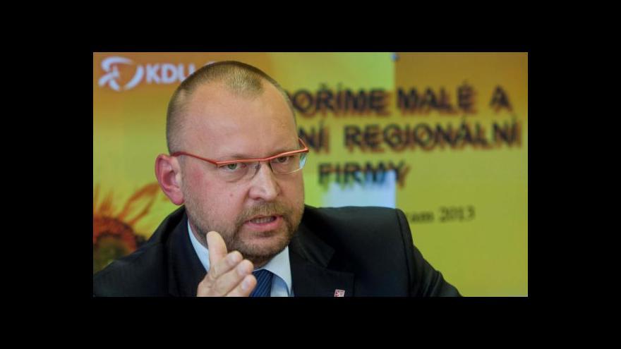 Video Komentář Jana Bartoška (KDU-ČSL) k vánočnímu poselství prezidenta