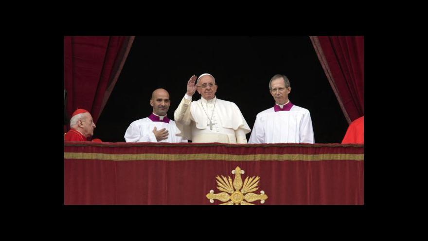 Video Urbi et Orbi: František zmínil masakry v Iráku a v Sýrii