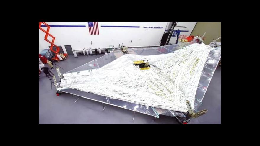 Video Představuje se Webbův vesmírný teleskop