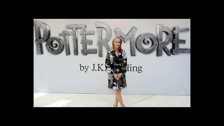 Video Rowlingová píše scénáře k novým filmům