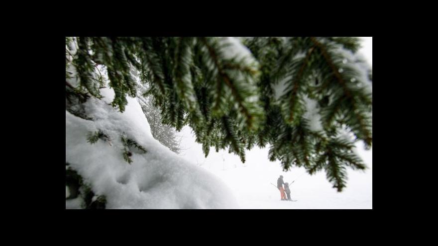 Video Sněžit začne na Štěpána