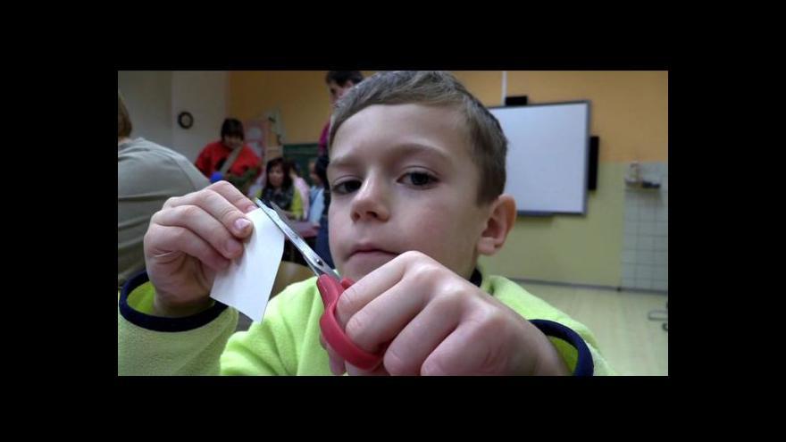 Video Vánoční dílničky na ZŠ v Okříškách