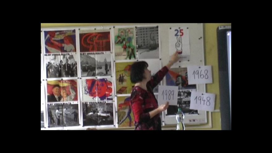 Video Příběhy bezpráví na ZŠ v Poběžovicích