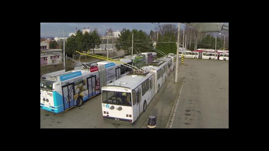 Video Budějovický dopravní podnik převezme správu osvětlení