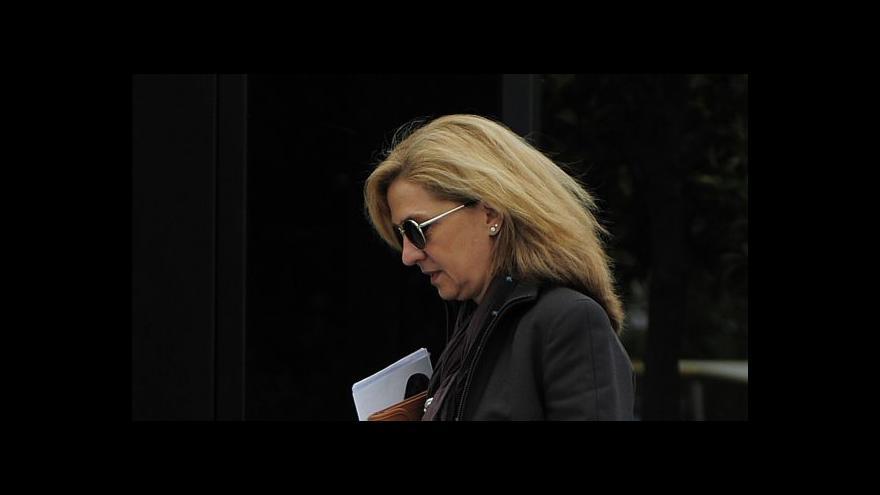 Video Španělskou princeznu budou soudit