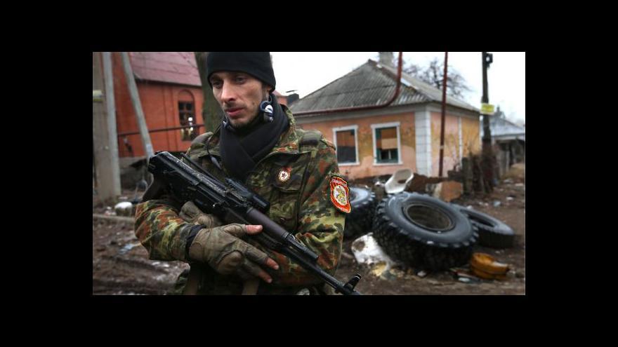 Video Povstalci na východě Ukrajiny ustupují