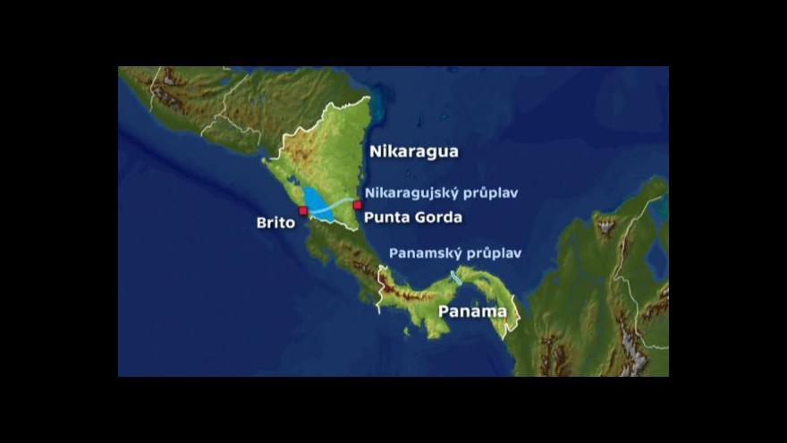 Video Nikaragua bude konkurovat Panamě