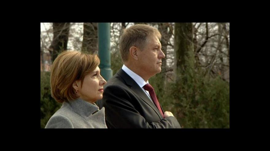 Video Nový rumunský prezident chce hlavně bojovat proti korupci