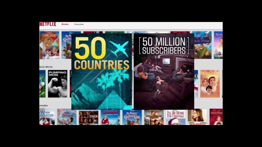 Video Netflix možná zamíří do východní Evropy
