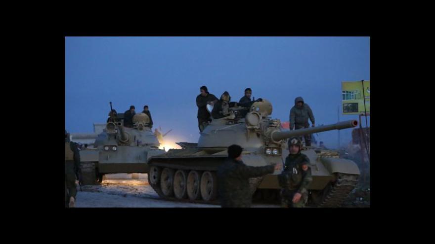 Video Z ČR míří ke Kurdům další dodávka munice