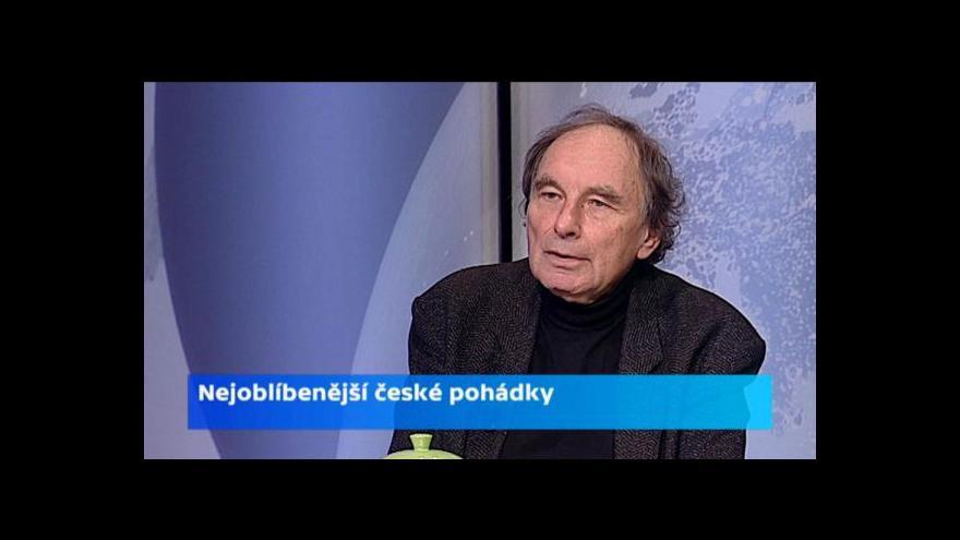 Video O pohádkách s Jiřím Chalupou