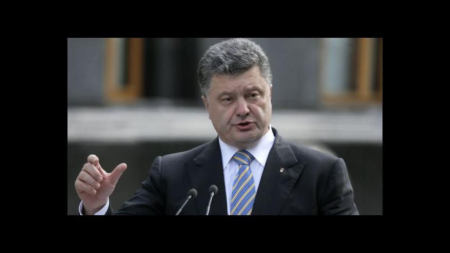 Video Hrozba bankrotu Ukrajiny, Porošenko žádá další finance
