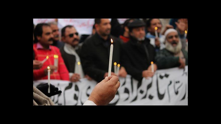 Video Pákistán začal popravovat islamisty