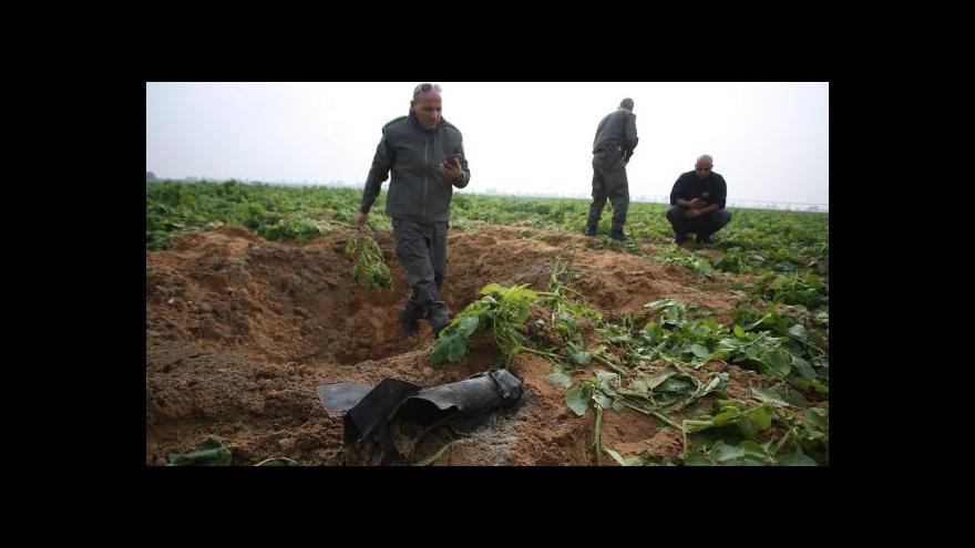 Video První letecký úder Izraele v Gaze od srpna