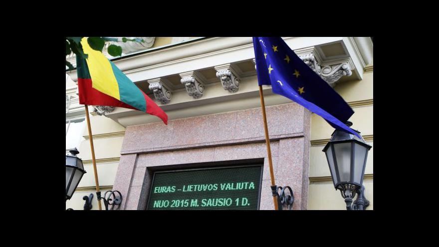 Video Litva se připravuje na vstup do eurozóny