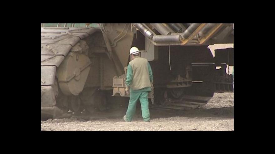 Video Severočeské doly budou propouštět