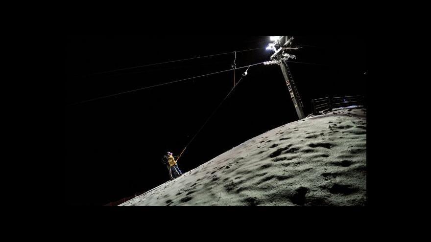 Video Sněhové zpravodajství pro ČR