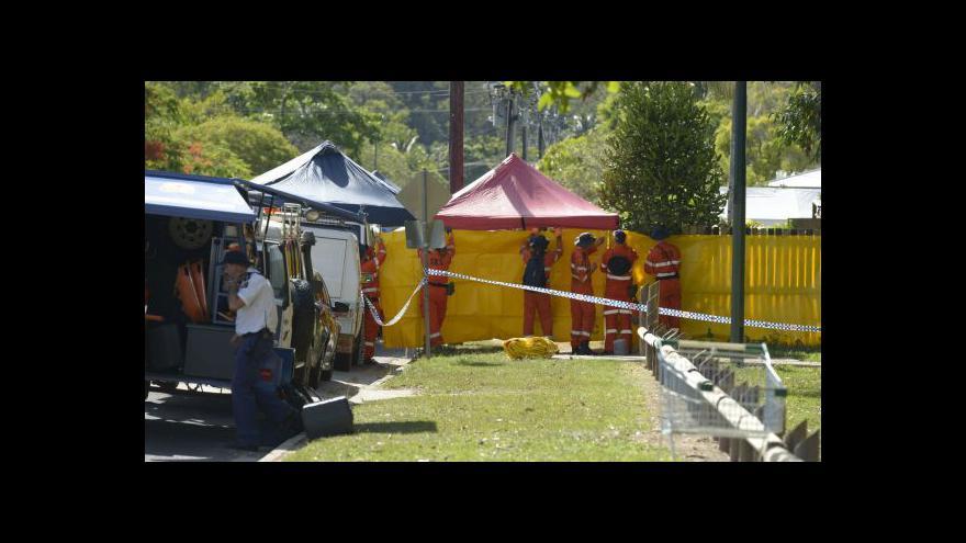Video Další černý den pro Austrálii
