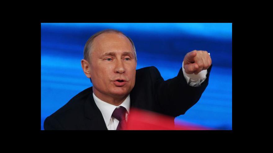 Video Horizont: Putinova řeč