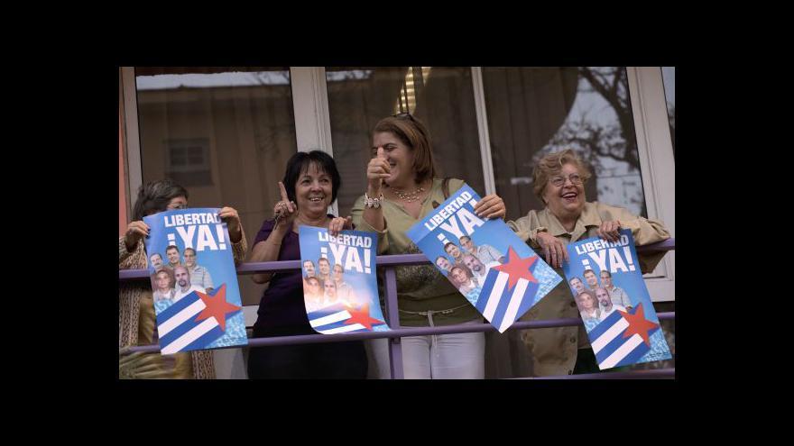 Video Castro vyzval USA k co nejrychlejšímu ukončení embarga