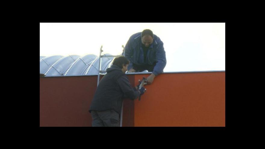 Video Nový zimní stadion v Bystřici nad Pernštejnem