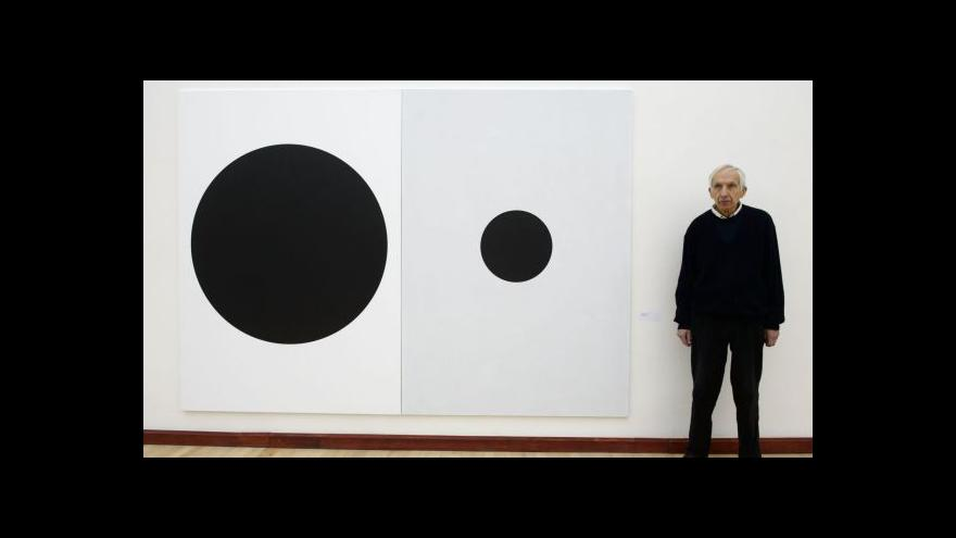 Video Milan Grygar vystavuje obraz a zvuk