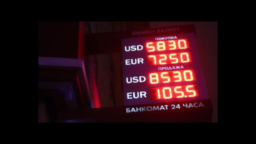 Video Události, komentáře: Krize rublu a dopad na české firmy