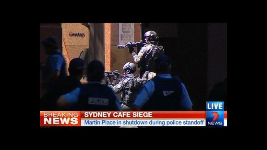 Video Bez komentáře: Útok v Sydney