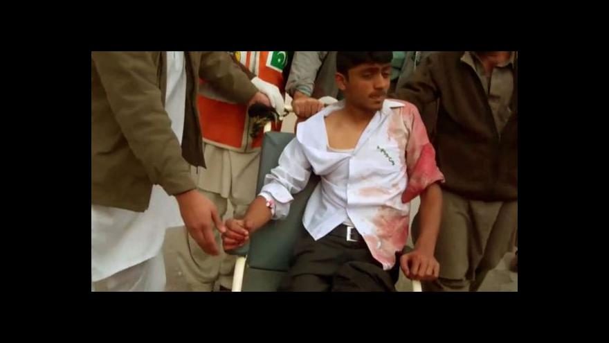 Video Události, komentáře k masakru na škole v Péšávaru