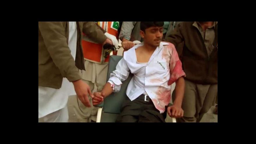 Video Horizont k masakru v Péšávaru