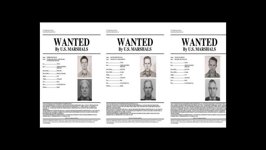 Video Útěk z Alcatrazu: Trojice vězňů možná byla úspěšná