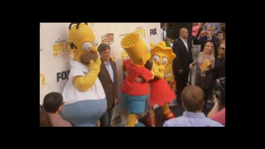 Video Čtvrtstoletí se Simpsonovými