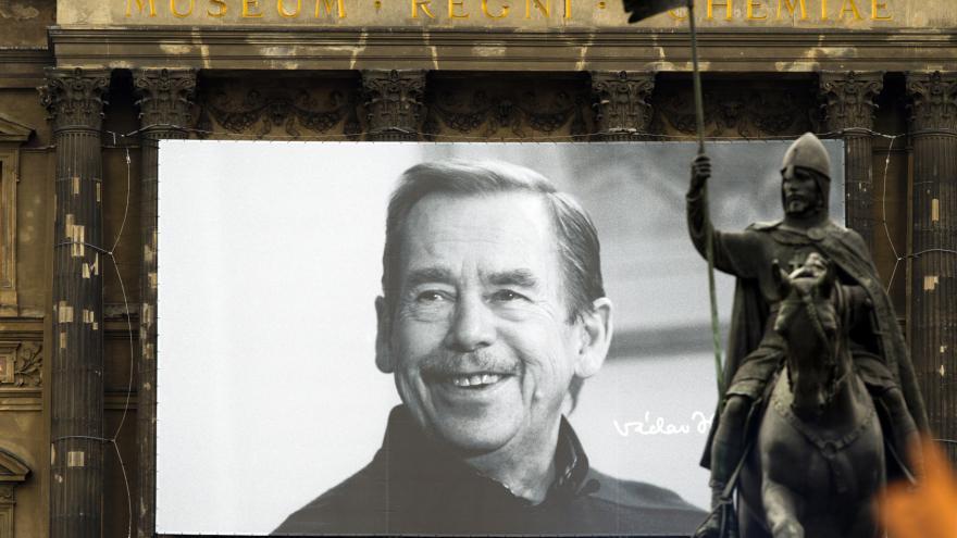 Video Česko si připomíná jubileum Václava Havla
