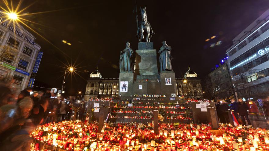 Video Odcházení Václava Havla
