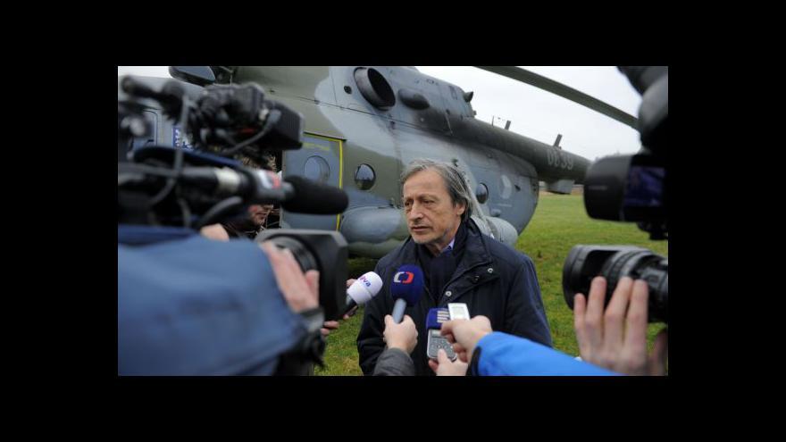 Video Události ČT: Květná po návštěvě ministra Stropnického