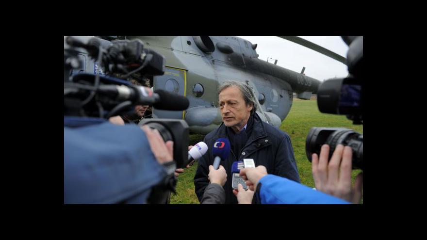 Video Brífink ministra obrany Martina Stropnického v Květné