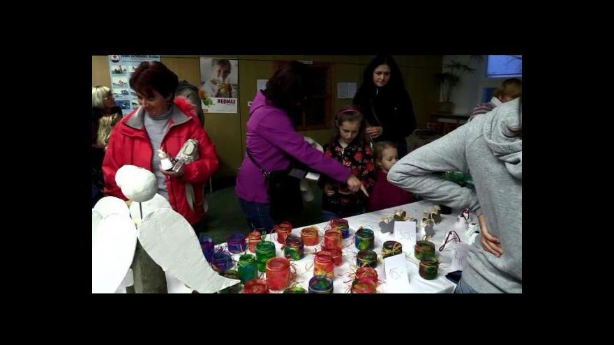 Video Vánoční jarmark na ZŠ v Okříškách