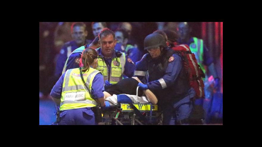 Video Události: Drama v Sydney skončilo smrtí dvou zadržovaných